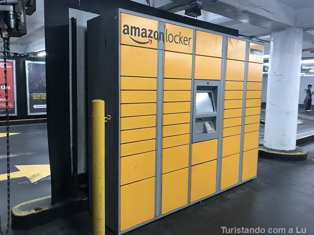 Como funciona o Amazon Locker nos EUA